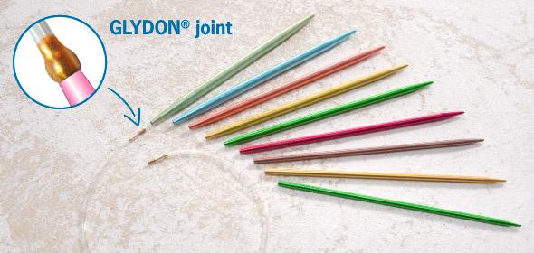 20/cm x 10/mm Pony Stricknadeln Set aus 5 doppelendigen Palisander