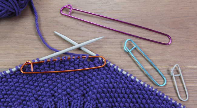 Knitting Using Stitch Holder : Knitting